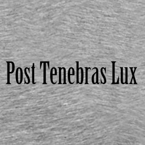 Post Tenebras Lux - Men's Premium T-Shirt