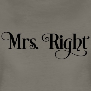 Mrs. Right Women's T-Shirts - Women's Premium T-Shirt