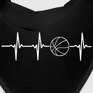 MY HEART BEATS FOR BASKETBALL, Caps - Bandana
