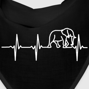 MY HEART BEATS FOR ELEPHANTS Caps - Bandana