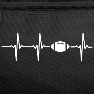 MY HEART BEATS FOR FOOTBALL Sportswear - Duffel Bag