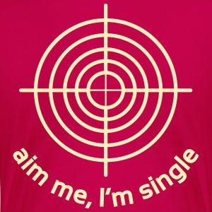 Aim Me, I'm Single Women's T-Shirts - Women's Premium T-Shirt