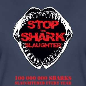 Stop The Shark Slaughter Women's T-Shirts - Women's Premium T-Shirt