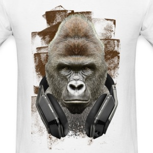 MUSIC LOVER GORILLA VI - Men's T-Shirt