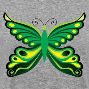 Beautiful green butterfly - Men's Premium T-Shirt