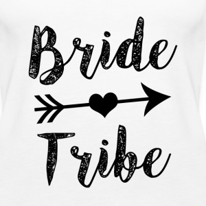 Bride Tribe Bridesmaid women's shirt - Women's Premium Tank Top