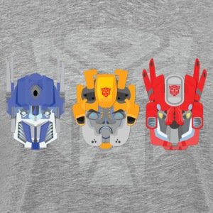 Transformers head art - Men's Premium T-Shirt