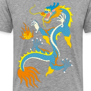 Chinese classical dragon pattern T-Shirts - Men's Premium T-Shirt
