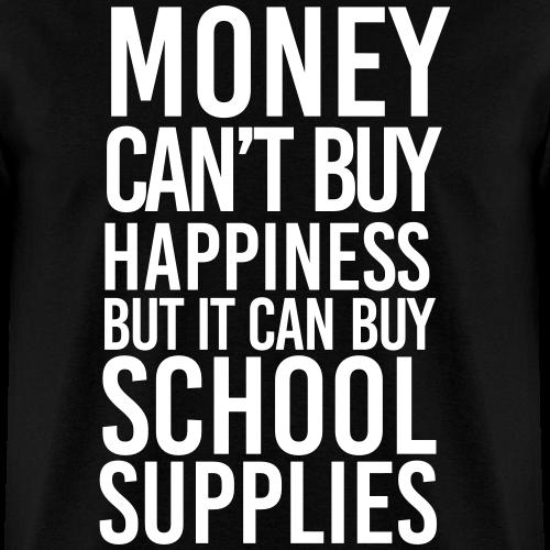 Money Buys School Supplies