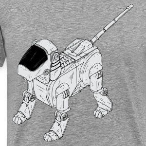 Robot dog clip art T-Shirts - Men's Premium T-Shirt
