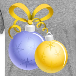Christmas decoration balls T-Shirts - Men's Premium T-Shirt
