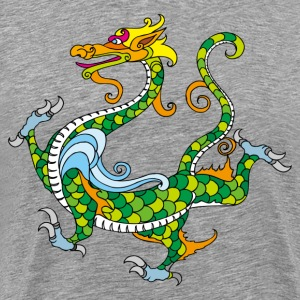 Dragon decoration pattern T-Shirts - Men's Premium T-Shirt