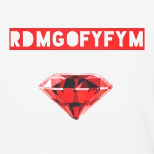 Red Diamond Music Group Slogan Mens Baseball Tee - Baseball T-Shirt