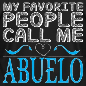 MY FAVORITE PEOPLE CALL ME ABUELO T-Shirts - Men's T-Shirt by American Apparel