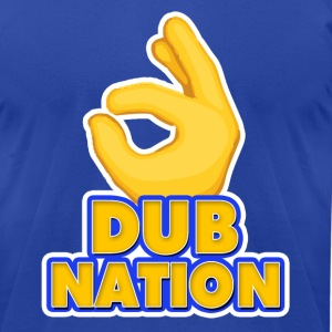 Dub Nation shirt - Men's T-Shirt by American Apparel