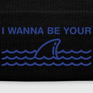 I Wanna Be Your Shark Sportswear - Knit Cap with Cuff Print