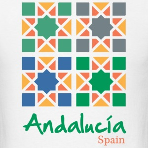 Andalusian Tiles 4 T-Shirts - Men's T-Shirt