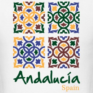 Andalusian Tiles 3 T-Shirts - Men's T-Shirt