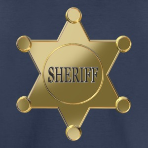 Sheriff golden star Kids' Shirts - Kids' Premium T-Shirt
