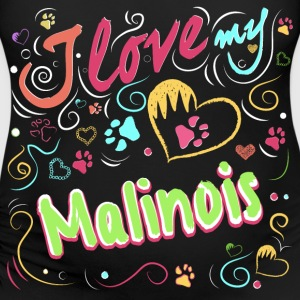 I love my malinois - Women's Maternity T-Shirt