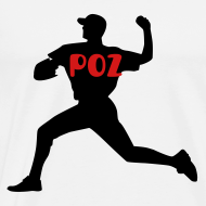 Design ~ Poz Pitcher Men's Premium Tee