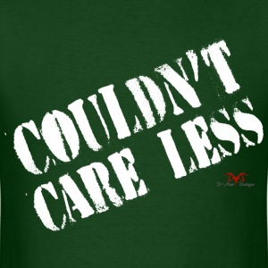 Care Less-dark prints - Men's T-Shirt