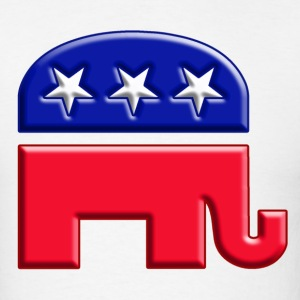 GOP republican elephant logo - Men's T-Shirt