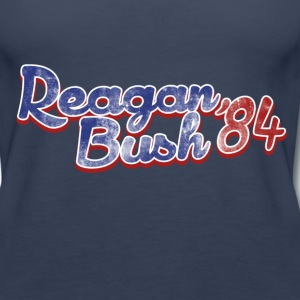 Retro Republican Reagan Bush 84 - Women's Premium Tank Top