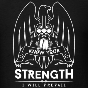 Viking Strength White T-Shirts - Men's T-Shirt