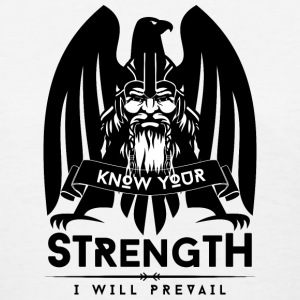 Viking Strength Black Women's T-Shirts - Women's T-Shirt