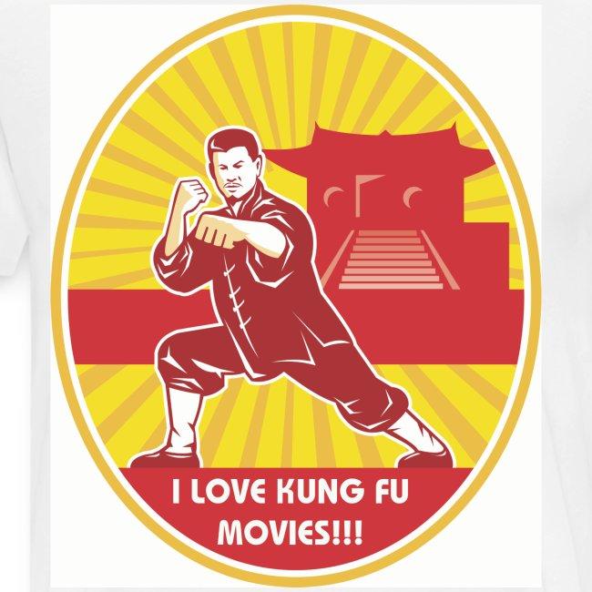 Mens Kung Fu Shaolin Mens Tee