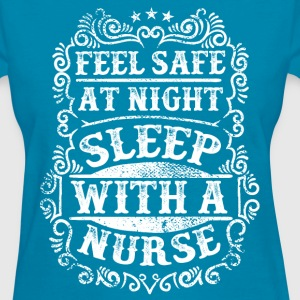 Sleep with a Nurse Quote Women's T-Shirts - Women's T-Shirt