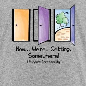 I Support Accessibility - Kids' Premium T-Shirt
