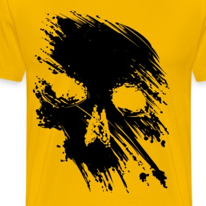 Black Skull Tee - Men's Premium T-Shirt