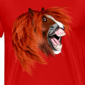 THE LAUGHING PONY - Men's Premium T-Shirt
