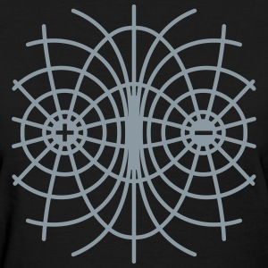 Field Lines - Women's T-Shirt