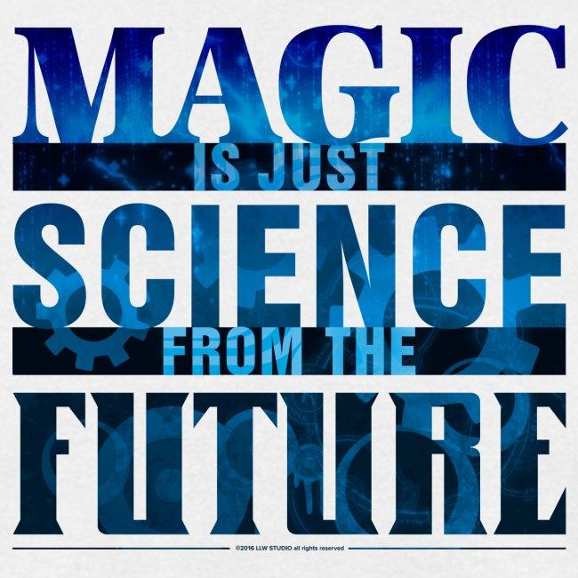 Magic—it's  Just Science, Blue