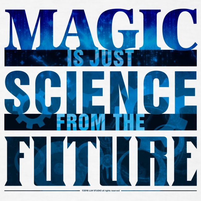 Magic—it's  Just Science, Blue