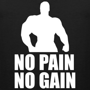 No Pain No Gain Sportswear - Men's Premium Tank