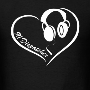 911 Dispatcher Heart Tee - Men's T-Shirt
