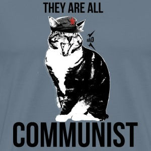 All cats are Communist - Men's Premium T-Shirt
