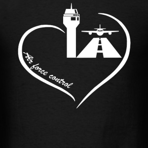Air Traffic Control Heart - Men's T-Shirt