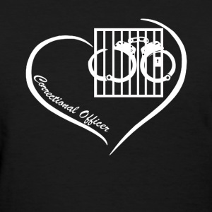 Correctional Officer Heart Shirt - Women's T-Shirt