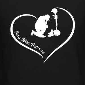 Iraq War Veteran Heart - Crewneck Sweatshirt