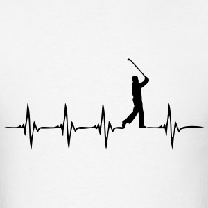Heartbeat Golf - Men's T-Shirt