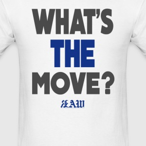 Raw Whats The Move Shirt - Men's T-Shirt