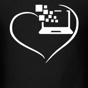 Programmer Heart Shirt - Men's T-Shirt