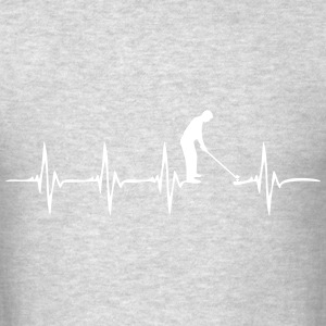 Heartbeat Golf 2 - Men's T-Shirt
