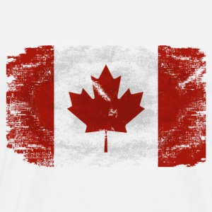 Maple Leaf- Canadian Flag T-Shirts - Men's Premium T-Shirt