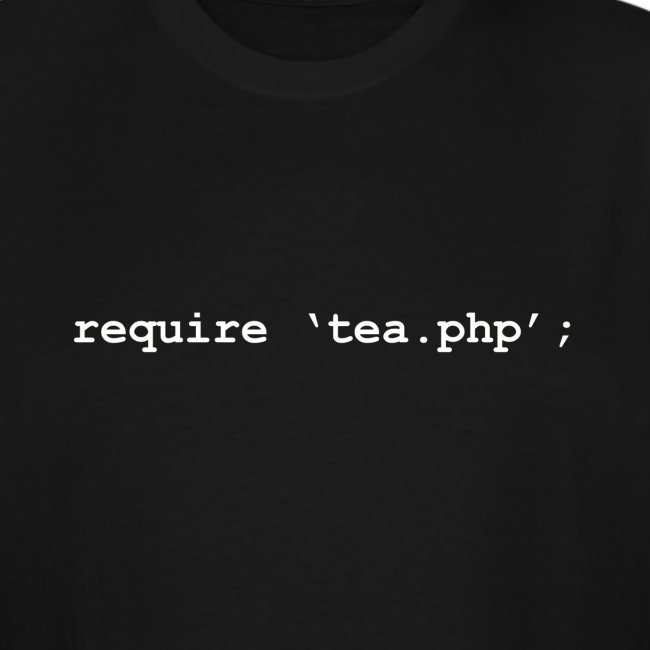 Require Tea - PHP